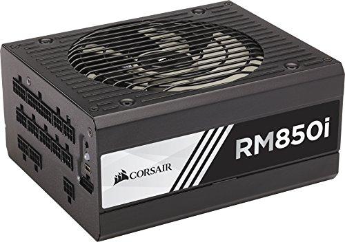 Corsair RM850i PC-Netzteil (Voll-Modulares Kabelmanagement, 80 Plus Gold, 850 Watt, EU) (Gold Zertifiziertes Netzteil)