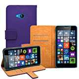 Membrane - Purple Wallet Case compatible with Nokia
