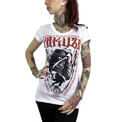 Yakuza Original Damen Ninja T-Shirt Weiß