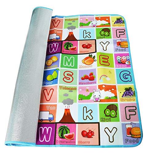 ymcfl tappetino per bambini di qualità tappeto per bambini di fitness 2 set di 18 metri tappeto per bambini tappeto per bambini