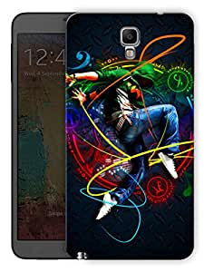 "Humor Gang Music And Dance Ife Printed Designer Mobile Back Cover For ""Samsung Galaxy Note 3 Neo"" (3D, Matte Finish, Premium Quality, Protective Snap On Slim Hard Phone Case, Multi Color)"