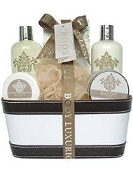 Gloss! Pack de 6 Corbeille de Bain Body Luxurious Coco