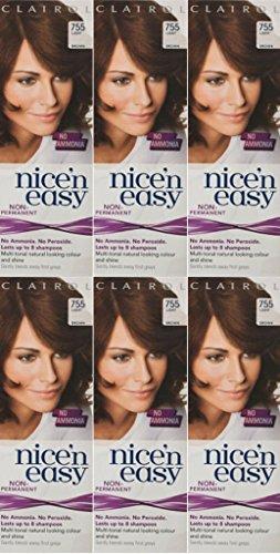 six-packs-of-clairol-nice-n-easy-loving-care-755-light-brown