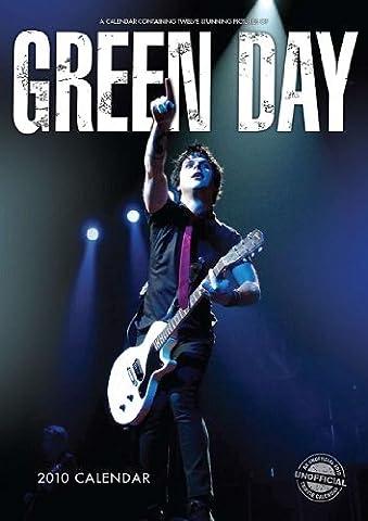Green Day 2010 Calendar