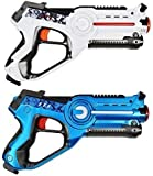 Laser Games For Kids, Laser Tag Set For kids Multiplayer Pack. The Laser Quest Tag Set Comes With Two Laser Tag Blasters