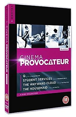 CINEMA PROVOCATEUR (Volume 1) - 4-DVD Set ( Q / Mes chères études / Tian bian yi duo yun / Hanyo ) [ UK Import ]