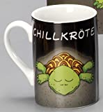 Design@Home Kaffeetasse Tasse Mug Text: Chillkröte