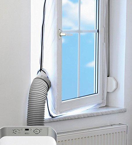 Lamiga 4M AirLock Fensterabdichtung für mobile Klimageräte und Ablufttrockner Hot Air Stop (1)