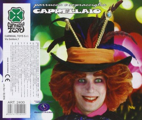 Carnival Toys S.R.L., Hatter Wig Augenbrauen