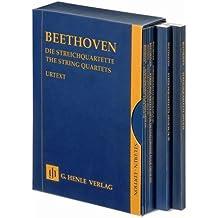 Die Streichquartette, 7 Bände im Schuber; Studienedition