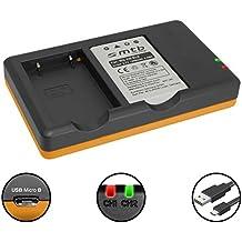 Batteria + Caricabatteria doppio (USB) per Nikon EN-EL5 / Coolpix P80, P90, P100, P500, P510, P5000… + e piu... v. lista!