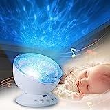 Projecteur Lampe, infreecs Lampe De Chevet Veilleuse Pour La Chambre D'enfant D'adult Soirée Bal Cadeau Anniversaire Créatif