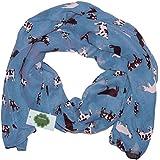 Neu mit Etikett Kühe Motiv Lang Leichter Schals für Damen Halstücher Accessoire