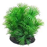 sourcingmap® Aquarium Artifiziell Kunststoff Gras Wasserpflanze Aquarienpflanz Grün 8cm de