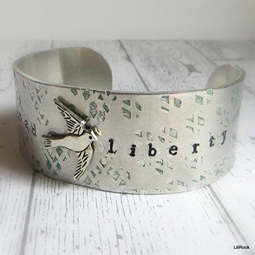manchette-aluminium-estampillee-libertad-et-liberty