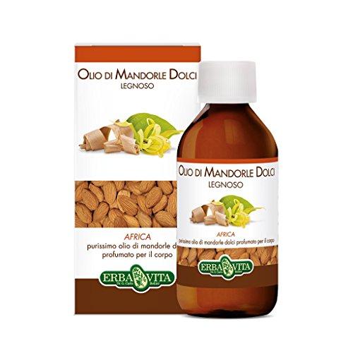 Erba Vita Olio Mandorle Dolci Africa - Flacone da 250 ml