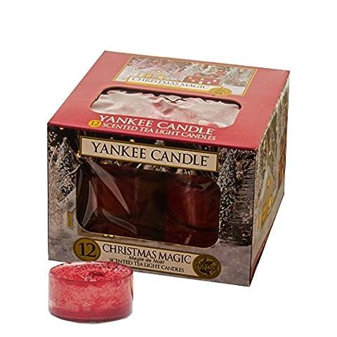 Yankee Candle Christmas Magic Tea Lights Bougie parfumée