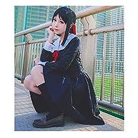 BIRDEU Love is War Wig Black Straight Hair Anime Cosplay Costume Accessories for Women Fancy Dress