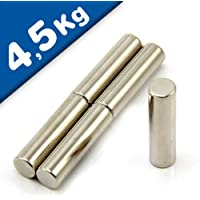 Cilindro magnetico Ø 10 x 40 mm Neodimio N40 4cd19f9b3cce