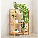 Pflanzenregale JM Stehender Balkon Wohnzimmer Multi-Layer-Holz fleischig Faltbar Innen- und Außen Blumenstand (größe : B)