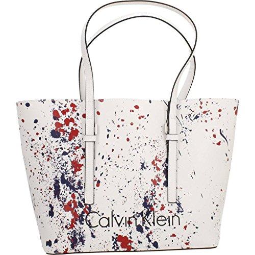 Calvin Klein CK Zone Medium Shopp 904 Damen Tasche (One Rate, Multicolor)