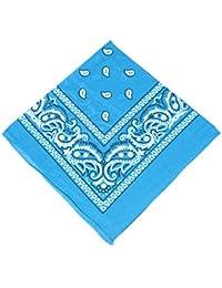 b2418c6317f4 Boolavard Coton, 1er 6 ou 12 Pack Bandanas avec motif Paisley original    Couleur au