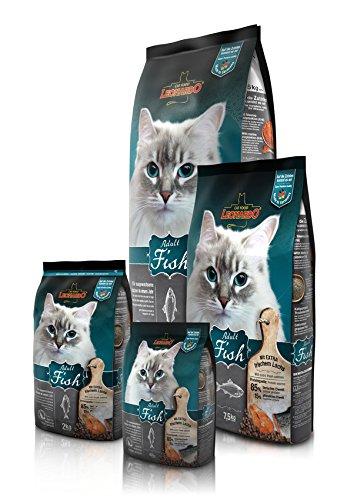 Leonardo Adult Fish 15 kg Fisch Premium Katzenfutter