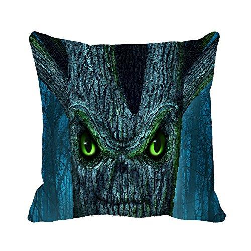 Warrantyll cappello happy halloween zucche casa cotone divano decorativo cuscino decorativo quadrato federa, cotone, #color 1, 26*26