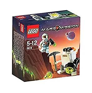 LEGO - 5616 - MarsMission - Jeux de construction - Astronaute et son robot