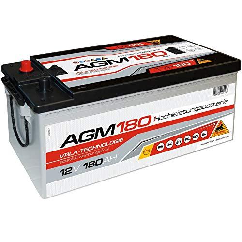 Panther AGM 180Ah 12V Versorger Batterie Mover Boot Solarbatterie statt 170Ah 200Ah