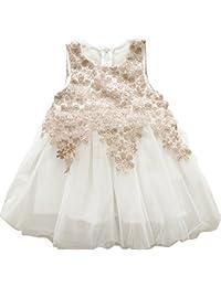 Bebone Vestido Tutu Princesa para muchaschas niñas en Boda Fiesta 91ab6ef900f2