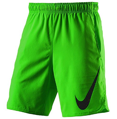 """Nike Herren Hyperspeed Woven 8"""" Shorts Action Grün/Schwarz"""
