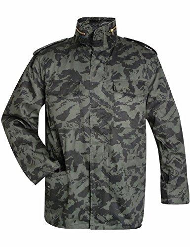 US army veste à doublure thermique russian tAÏGA camo XXXL