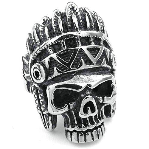 daesar-homme-bagues-acier-inoxydable-bandes-homme-punk-american-indian-crane-anneau-argent-noir-bagu