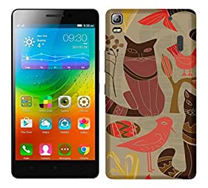 WOW 3D Printed Designer Mobile Case Back Cover For Lenovo K3 Note / K3 Note