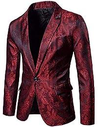 es Amazon Trajes De Chaquetas Esmoquin Blazers Rojo Y Ropa aUUzwvqdxP d3a596b257304