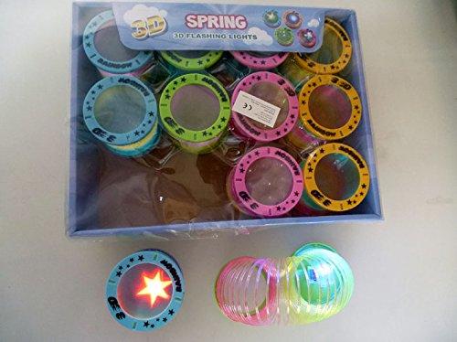 12x LED Regenbogenspirale Treppenläufer