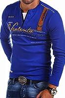 MT Styles - R-0663 - T-shirt 2 en 1 à manches longues - imprimé « Adventure »