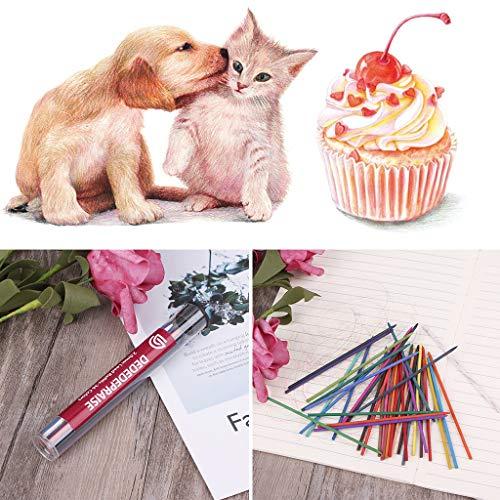 Bhty235 Bleistiftmine, Zeichnen und Skizzieren, 36 Stück/Box 2,0 mm 90 mm Druckbleistift, Minen für Skizzen, Zeichnen, Farbe