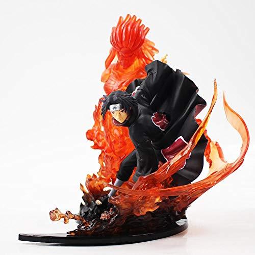 19-21cm Naruto Shippuden Fire Uchiha Itachi Sasuke Susanoo Uzumaki Fig
