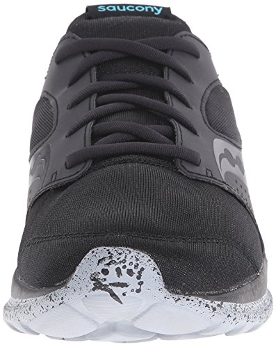 SAUCONY Mens Kineta Relay Mens Footwear Black/Blue