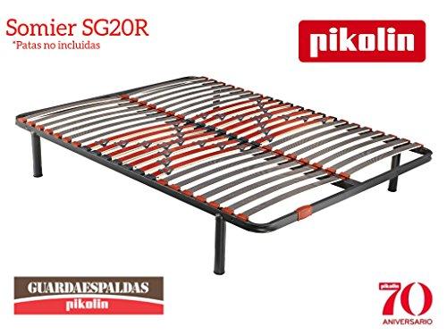 Pikolin Somier SG20R - 20 Láminas de madera para una ADAPTABILIDAD activa superior.