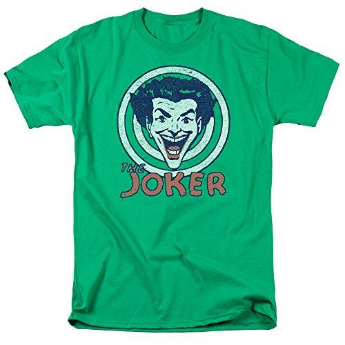 Dc-Maglietta Target da uomo [lingua inglese] Verde - Kelly green