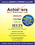 #8: Achievers IELTS books 9 Bands 4 in one (Speaking, Writing) General and Academic Training (Updated Edition)