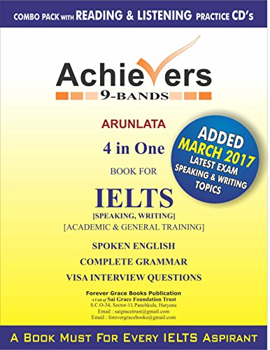 Achievers IELTS books 9 Bands 4 in one (Speaking, Writing)...