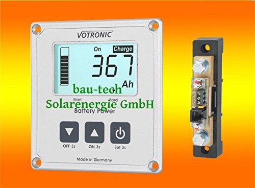 Preisvergleich Produktbild Votronic S100 Batterie Computer mit Mess Shunt für Batterieüberwachung von bau-tech Solarenergie GmbH