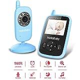 HelloBaby HB24 Wireless Digital Video Baby Monitor 2.4 TFT LCD Monitor del Bambino di Sorveglianza di Visione Notturna+Sensore di Temperatura