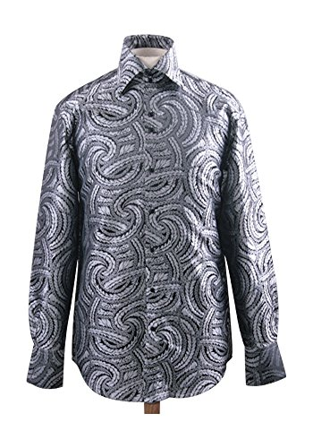 Men's Fashion Forward Formal Shirt White