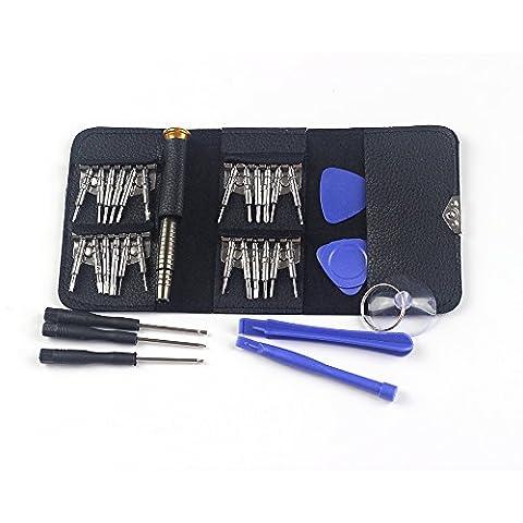 25 en 1 Kits de tournevis Réparation Désassembler les outils