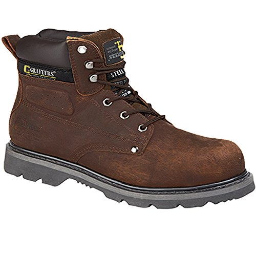 Grafters , Chaussures de sécurité pour homme Marron marron Marron
